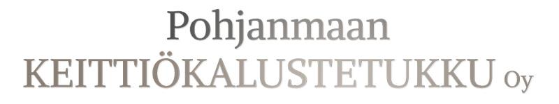 pohjanmaankeittiokalustetukku logo